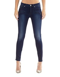 Hudson Jeans Faded Skinny Fit Blue