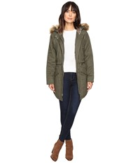 Sanctuary Kara Winter Parka Military Women's Coat Olive