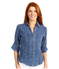 Scully Nadine Blue Blue Women's Clothing