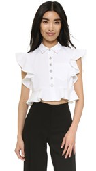 Nanette Lepore Warehouse Blouse White