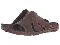 Lotus Campbell Brown Leather Men's Sandals