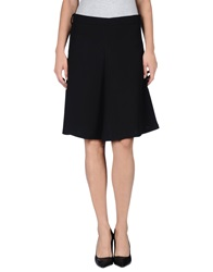 .. Merci Merci Knee Length Skirts Black