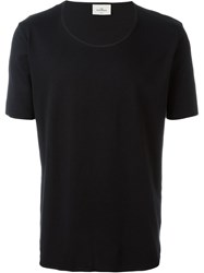 The White Briefs 'Anchovy' T Shirt Black