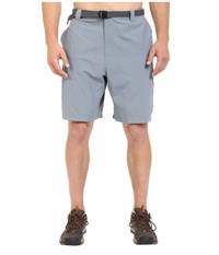 Columbia Big Tall Silver Ridge Cargo Short 42 54 Grey Ash Men's Shorts Gray