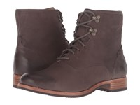 Sebago Jayne Mid Boot Dark Taupe Leather Women's Boots
