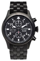 Men's Jack Mason Brand 'Aviation' Chronograph Bracelet Watch 42Mm