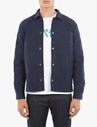 A.P.C. Quilted Denim Cole Jacket