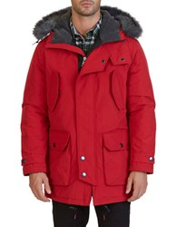 Nautica Hooded Parka Jacket Nautical Red