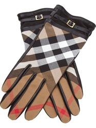 Burberry London Check Gloves Black