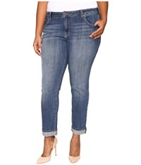 Lucky Brand Plus Size Ginger Straight In Morrison Morrison Women's Jeans Blue