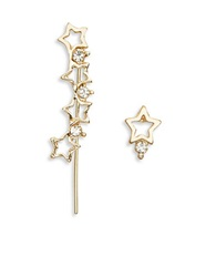 Catherine Stein Star Crawler And Stud Set Gold