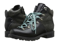 Woolrich Rockies Black Crackle Leather Women's Boots