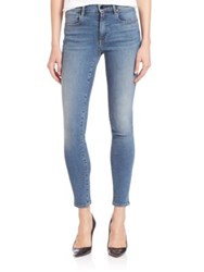 Alexander Wang Whip Stretch Skinny Jeans Washed Med