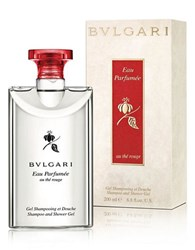 Bulgari Eau Parfumee Au The Rouge Shampoo Shower Gel 6.8Oz. No Color