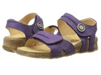 Haflinger Patricia Eggplant Women's Sandals Purple