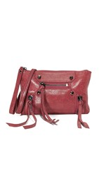 Botkier Logan Cross Body Wristlet Chili