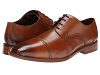 Florsheim Castellano Cap Toe Saddle Tan Men's Lace Up Cap Toe Shoes Brown