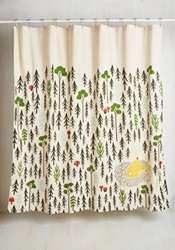 Bath Home Sweet Hideaway Shower Curtain
