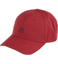 The Kooples Crest Baseball Cap Burgundy