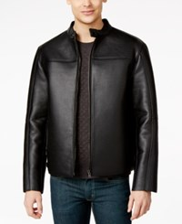 Inc International Concepts Gomez Bonded Fake Leather Jacket Only At Macy's