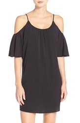 French Connection Women's 'Polly' Cold Shoulder Shift Dress