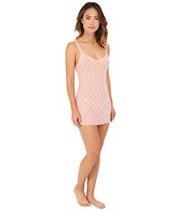 B.Tempt'd Lace Kiss Chemise Crystal Rose Women's Pajama Pink