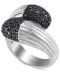 Macy's Balissima By Effy Black Diamond Ring 3 5 Ct. T.W. In Sterling Silver White Gold