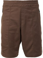 Aztech Mountain 'Lost Man' Hike Shorts Brown