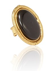 Sylvia Toledano Oval Ring Black