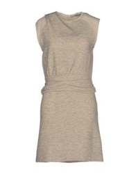 By Zoe Short Dresses Ivory