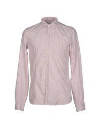 Gold Case By Rocco Fraioli Long Sleeve Shirts Pink