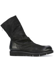 The Last Conspiracy 'Skijold' Boots Black