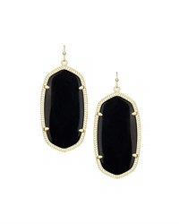 Kendra Scott Danielle Earrings Black Onyx