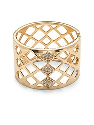 Saks Fifth Avenue Goldtone Openwork Bracelet No Color