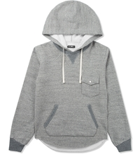 Grey Roaming Sweat Parka