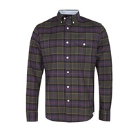 Dockers Oxford Check Shirt Nightwatch Blue