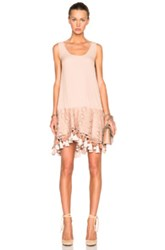 N 21 No. 21 Lace And Fringe Dress In Pink