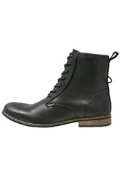 Shoe The Bear Walker Laceup Boots Black