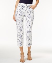Styleandco. Style Co. Printed Capri Pants Only At Macy's Floridian