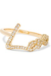 Stephen Webster Tracey Emin Love 18 Karat Gold Diamond Ring