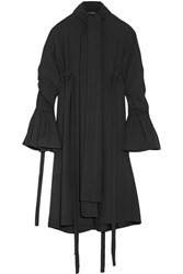 Ellery Inez Crepe Shirt Dress Black