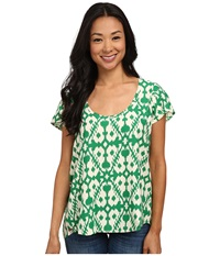 Kavu Bernice Blouse Evergreen Women's T Shirt