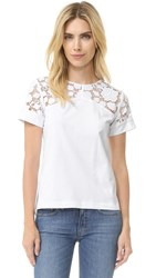N 21 Short Sleeve Top White