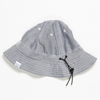 Norse Projects Chart Reversible Bucket Hat Grey Ecru
