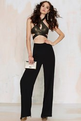Nasty Gal You're The Boss Wide Leg Pants