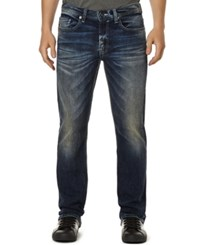 Buffalo David Bitton King X Stretch Slim Bootcut Jeans Used And Dirty