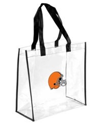 Forever Collectibles Cleveland Browns Clear Tote Bag