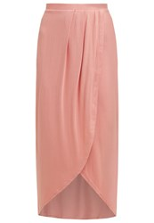 New Look Petite Maxi Skirt Mid Pink