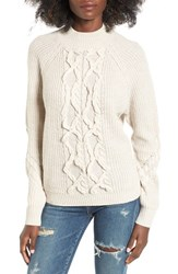 Leith Women's Cable Knit Sweater