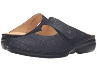 Finn Comfort Stanford Notte Cris Women's Clog Mule Shoes Black